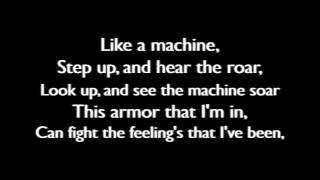 Thousand Foot Krutch - Like A Machine (Lyric Video)