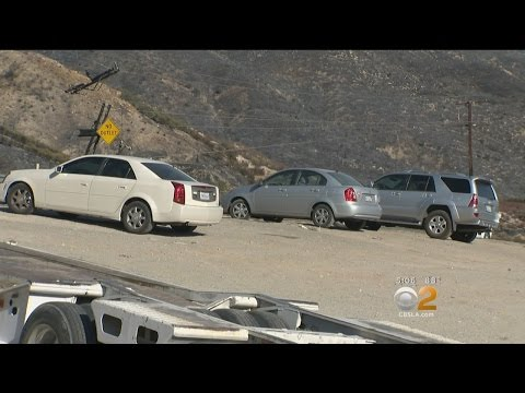 Blue Cut Fire Has Wrightwood Residents Scrambling To Get Their Cars