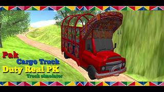Real Pak Cargo Truck Drive 2018 Simulator - Android Game Play