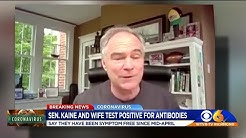 Tim Kaine, Anne Holton test positive for coronavirus antibodies