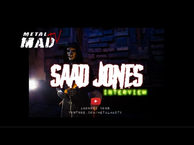 Interview SAAD JONES au Motocultor