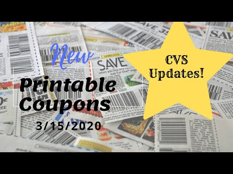 Printable Coupons 3/15/20 Saving Star Rebates/ CVS UPDATE!