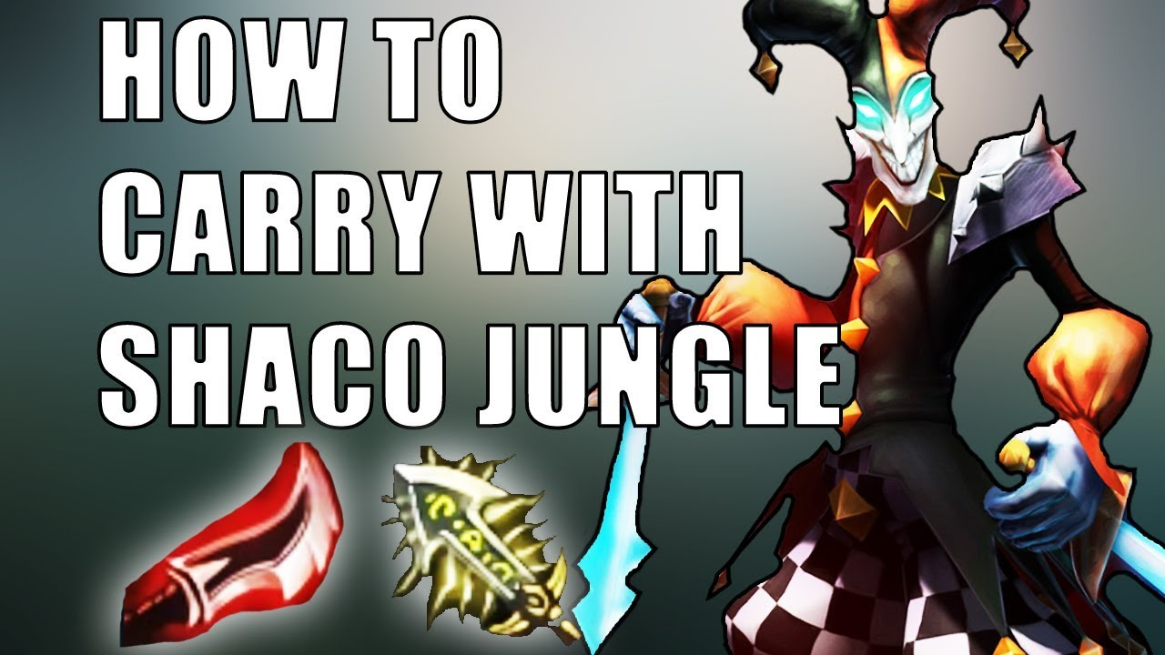 Shaco Build S7: CARRY WITH JUNGLE SHACO IN RANKED SEASON 8! *no Commentary