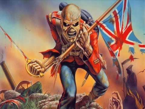 Iron Maiden The Trooper With Greek Lyrics Youtube