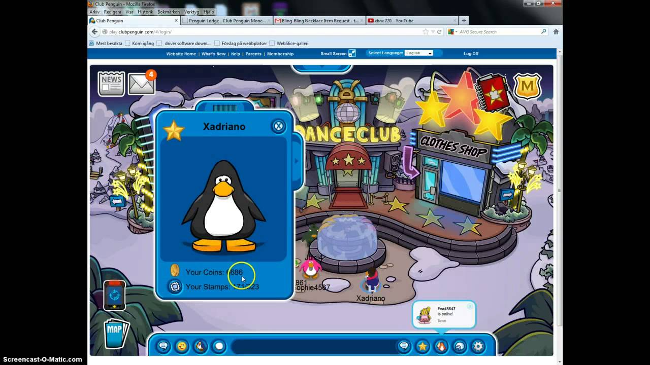Club penguin stamps cheats.