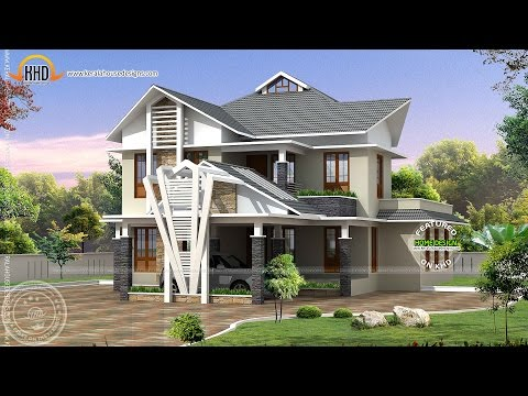 Architecture House Plans Compilation July 2012