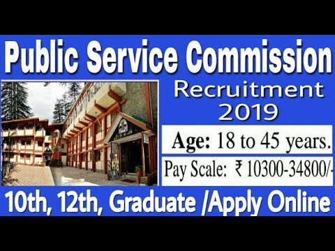 Public Service Commission Recruitment 2019 II Jobs In PSC II Learn Technical