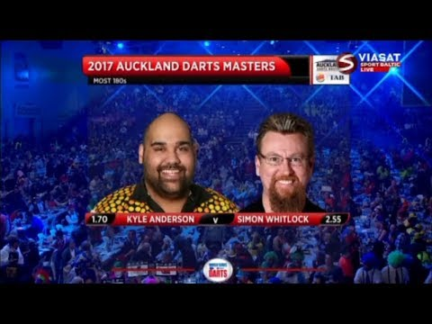 2017 Auckland Darts Masters 2017 Quarter Final K.Anderson vs Whitlock