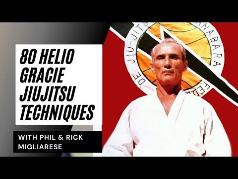 80 Techniques: Helio Gracie Tribute- Miglise Bros. (BJJ Brazilian Jiu-Jitu Self Defense)