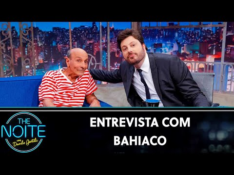 Entrevista com Bahiaco  The Noite 130819