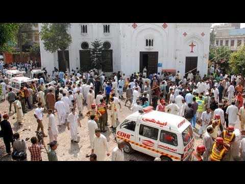Aftermath of Pakistani Church Attack