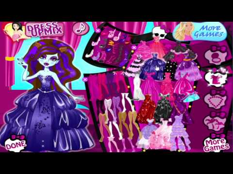 Raquo Monster High Dress Up Game