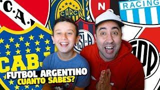ADIVINA el CLUB del FÚTBOL ARGENTINO | *Test MUY DIFÍCIL