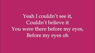 Out of Sight (The Rapture) - Alexx Calise (Dance Moms) - Lyrics