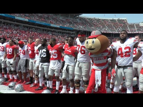 2017 Ohio State Spring Game: Team Scarlet defeats Team Gray 38-31