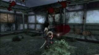 Afro Samurai Xbox 360 Gameplay - Cut All Over