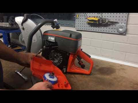 How to Change the Recoil Spring on a Husqvarna K760 Disc