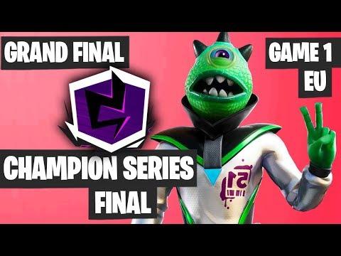 Fortnite Champion Series Final Highlights - EU GRAND FINAL Game 1