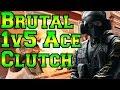 Brutal 1v5 Ace Clutch - Rainbow Six Siege