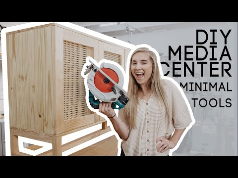 DIY Media Center With Minimal Tools PART 3! FINAL