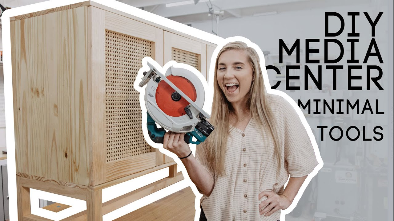 DIY Media Center With Minimal Tools PART 3! FINAL - YouTube