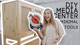 DIY Media Center With Minimal Tools PART 3! FINAL
