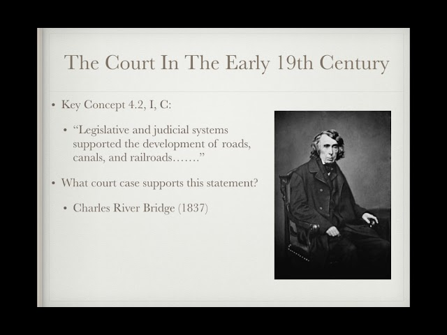 APUSH Review: Video #20: Supreme Court Cases In The Early 1800s and National Culture