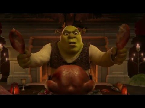 Shrek 2 (2004) - The Dinner Scene