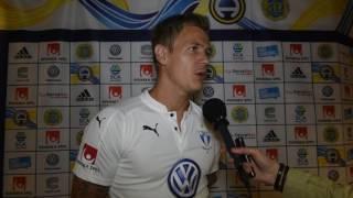 intervju med Johan Dahlin efter GIF Sundsvall - Malmö FF