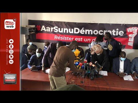 Affaire Sonko: suivez la conférence de presse de Aar Suñu Dé