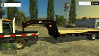 farming simulator 2015 mods chevrolet 3500 flatbed ford f 350 case ih
