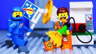 LEGO MOVIE 2 SPACE PRANK FAIL - ANIMATION for Kids