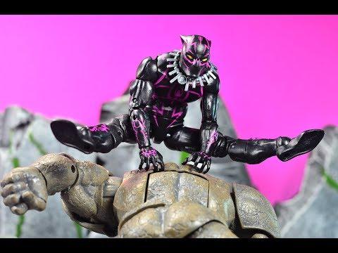 Marvel Legends Walmart Exclusive Black Panther (Vibranium Tech Suit) Review