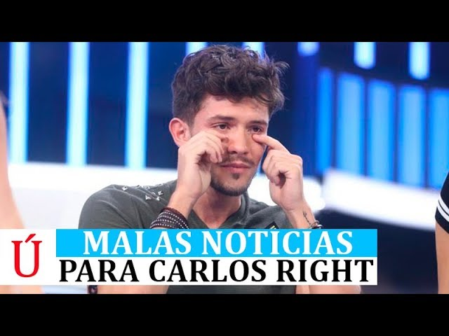 Malas noticias para Carlos a unas horas de la Gala 8 de Operación Triunfo según las encuestas