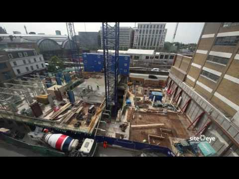 Hotel Development Kings Cross – Construction Time Lapse June 2016