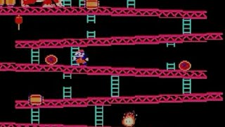∆ NES ∆ Donkey Kong [ All Stages ]