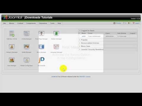 JDownloads Tutorial: Activate User Rating