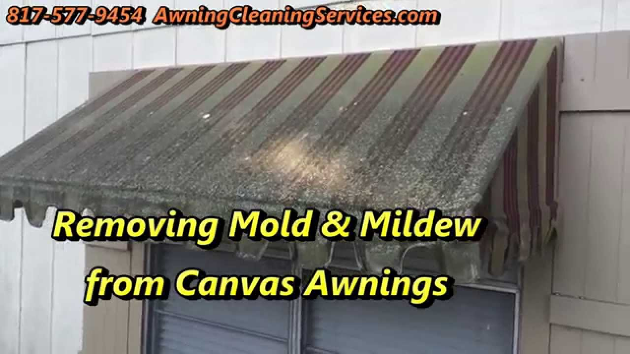 Awning Cleaning To Remove Mold Mildew Dallas Fort Worth Tx