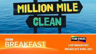 Surfers Against Sewage - Million Mile Beach Clean - BBC Breakfast