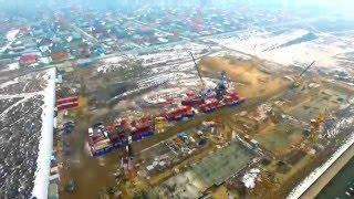 """Компания """"Базис"""" строит новый жилой район  """"Алмалы""""  в Алматы"""