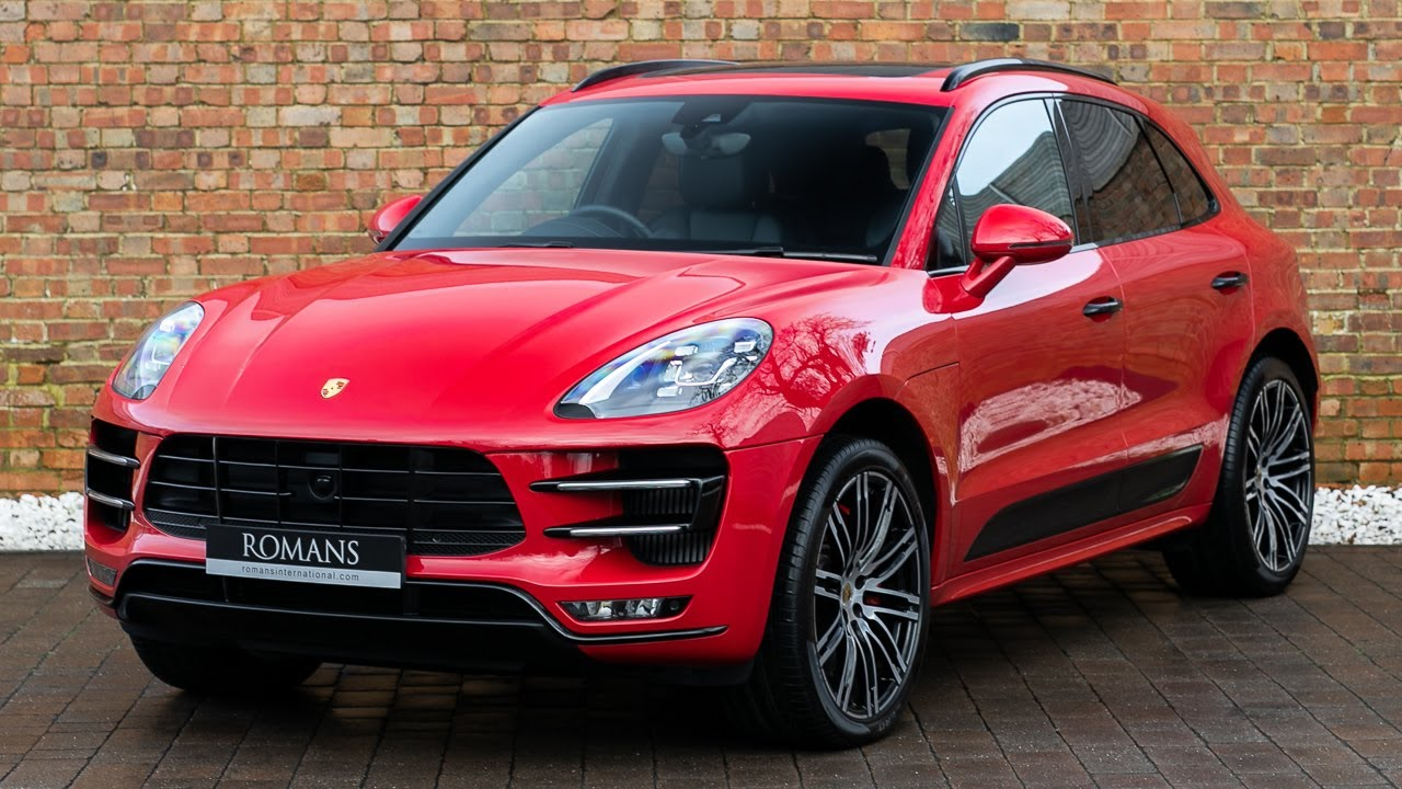 2018 Porsche Macan Turbo Performance Package , Carmine Red , Walkaround,  Interior \u0026 Exhaust Sound