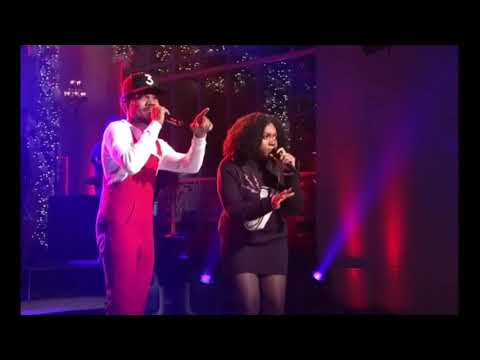 Chance the rapper - finish line/ Drown snl performance ( Audio)