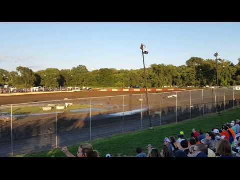 8/20/16 peoria speedway steel block heat 2