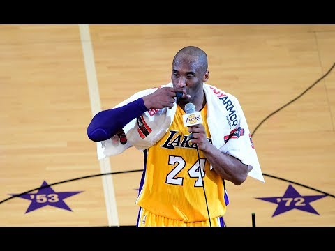 Mamba out: a look back at kobe bryant's farewell speech after final game mp3