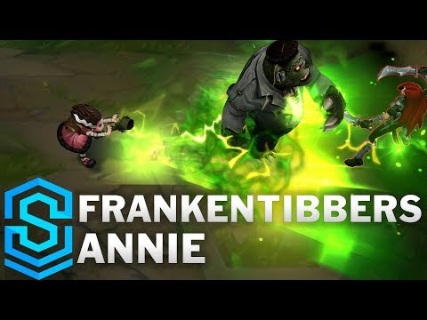 FrankenTibbers Annie (2020) Skin Spotlight - League of Legends