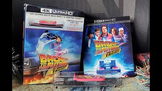 Back to the Future 4k Trilogy Unboxing