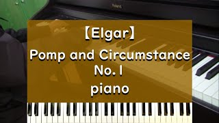 Elgar - Pomp and Circumstance No.1 - piano