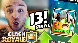 FIRST TIME MAX LEVEL CARDS PLAY GAMES - CLASH ROYALE