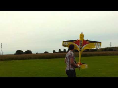 Andy Rigby - July 2012 - Sebart Sukhoi 2m - Opti Power - MKS HV767 Servos