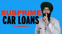 Subprime Auto Loans - Crisis In The Auto Industry